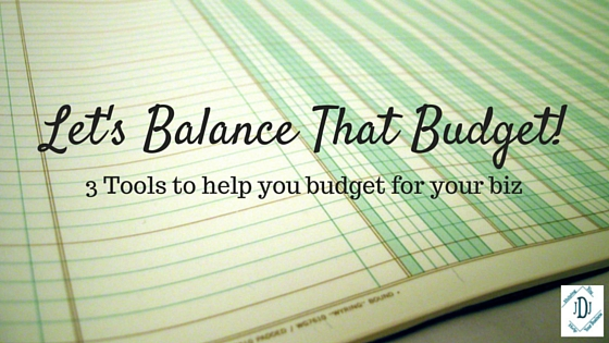 Budget and tools to help you budget